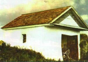 Rebbe Nachman's tomb, at the beginning of the 20th century.