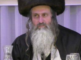 Rav Shmuel Stern head of Nachalei Netzach institutions