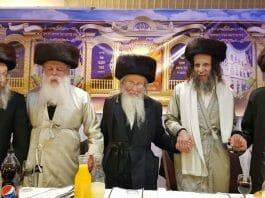 Rav Moshe Tzanani, Rav Ofer Erez, Rav Yehoshua Dov Rubinstein, Rav Michael Gol, Rav Nachman Berland
