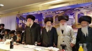 Rav Yehoshua Dov Rubinstein, Rav Michael Gol, Rav Nachman Berland, Rav Nachman Horowitz, Rav Eliyahu Merav, Rav Menachem Azoulai, Rav Meir Malka, Rav Yosef Shur