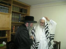 Rav Koenig with Rav Berland