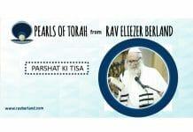 Torah pearls for Ki Tisa: The importance of binding to the true Tzaddik