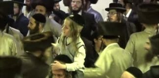 celebrating Rav Berlands release