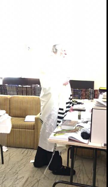 Rav Berland's aura is captured on video