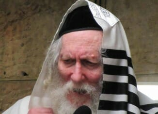 Rav Berland's first request after returning home