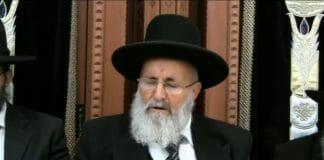 Rav Shalom Tzadok visits Rav Berland