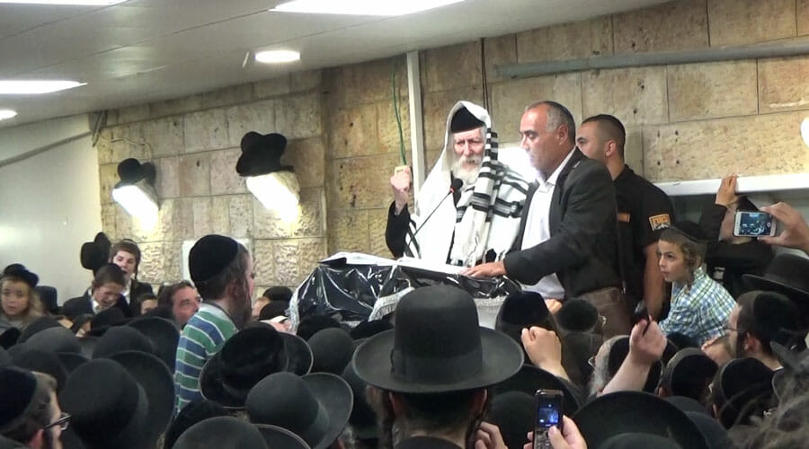Rav Berland back in Jerusalem