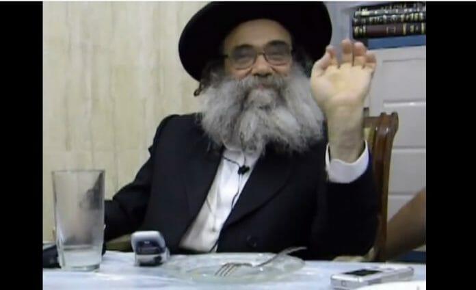 Famous kabbalist Rav Gamliel Rabinowitz