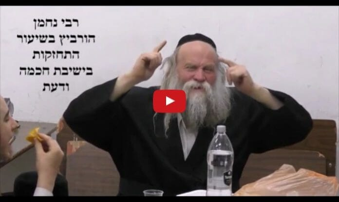 Rav Nachman Horowitz shares words of chizzuk about Rav Berland