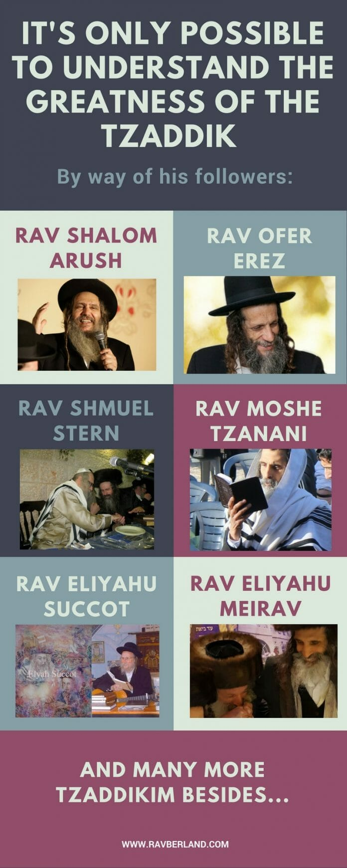 Some of the many, holy followers of Rav Berland, shlita