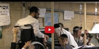 Rav Berland and the weight-less wheelchair