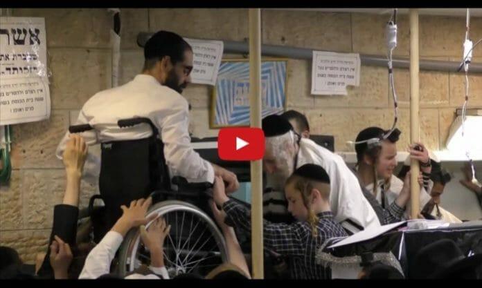 Rav Berland and the weight-less wheelchair