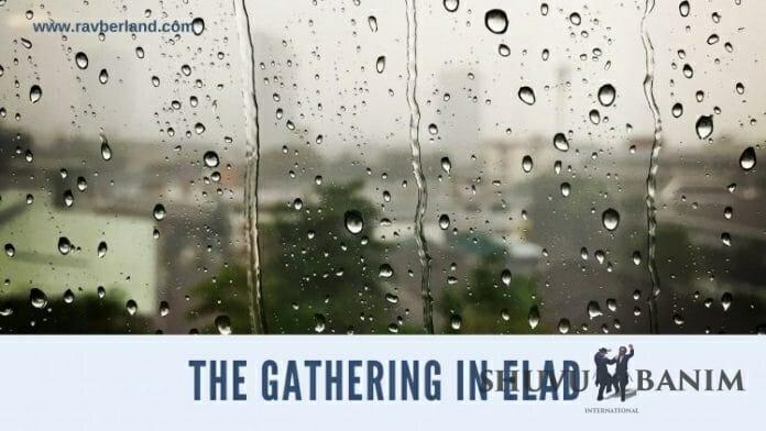 Big gathering in Elad