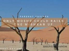 Moshe and the Mishkan