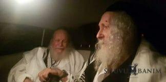 Rav Eliezer Berland and Rav Yehezkel Berland