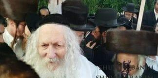 Rav Berland visits Kiryat Sefer