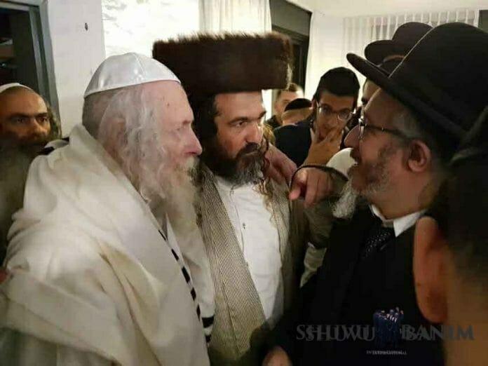 Rav Yosef Mughrabi visits Rav Berland