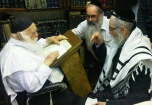 Rav Kanievsky and Rav Berland