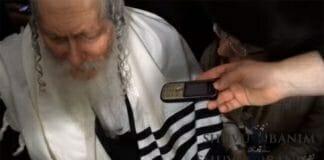 Rabbi Berland in Givat Olga