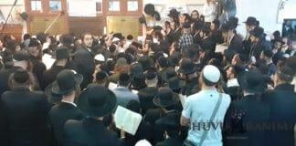 Rabbi Berland in Uman 5780