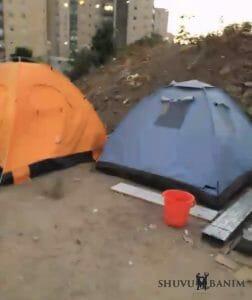 encampment Ayalon Prison Ramla