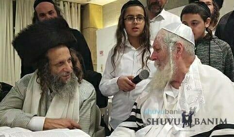 Rav Ofer Erez and Rav Eliezer Berland