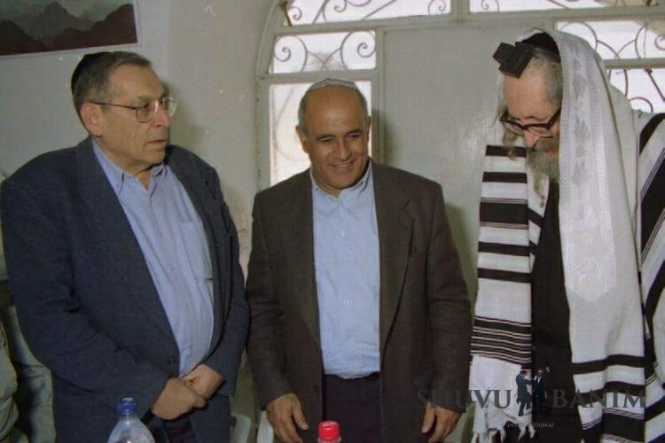 Rav Berland with Zeevi